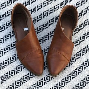 Universal Thread brown cutout booties